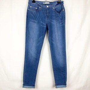 Levi's Medium Wash Blue Legging Jeans Mid Rise 30